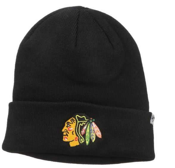 Zimná čiapka 47 Brand Raised Cuff Chicago Blackhawks