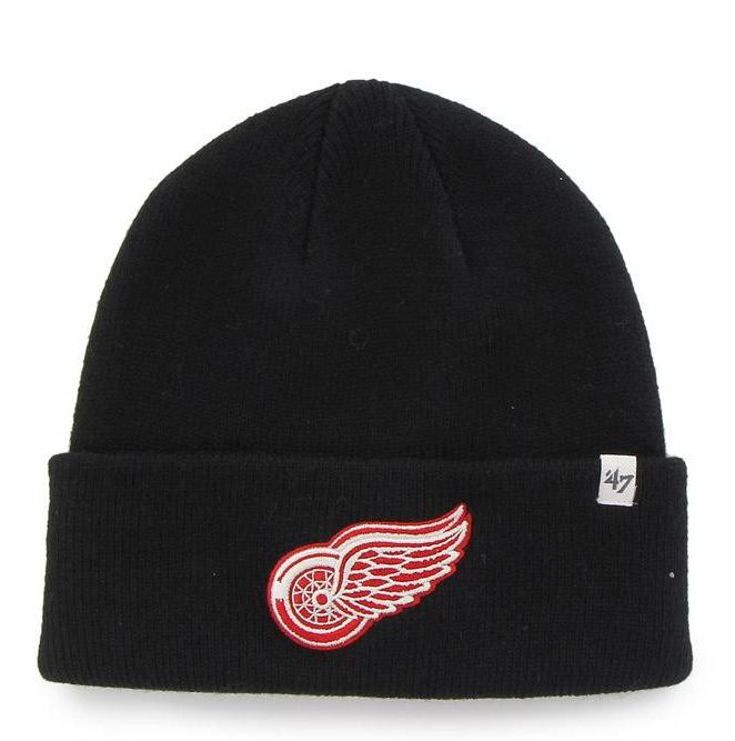 Zimná čiapka 47 Brand Raised Cuff Detroit Red Wings