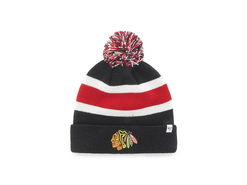 Zimná čiapka 47 Brand Breakway Chicago Blackhawks